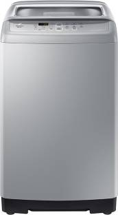 SAMSUNG 6.5 kg Fully Automatic Top Load Silver