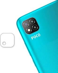 KOISTON Back Camera Lens Glass Protector for Poco C3