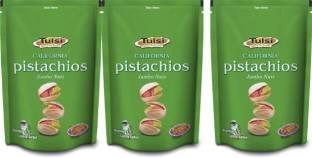 Tulsi California Pistachios Jumbo Nuts_Pack Of 3(200gm*3) Pistachios
