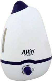 Allin Exporters PH906 Cool Mist Dolphin Shaped Ultrasonic Humidifier & Diffuser for Adults & Baby Bedr...