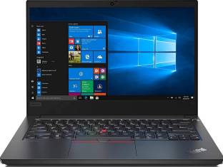 Lenovo ThinkPad E14 Core i7 10th Gen - (8 GB/1 TB HDD/128 GB SSD/Windows 10 Home) E14 Thin and Light L...