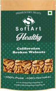 Soft Art Healthy Broken Walnut (without shell) Vaccum Pack Walnuts (100 grams) Walnuts