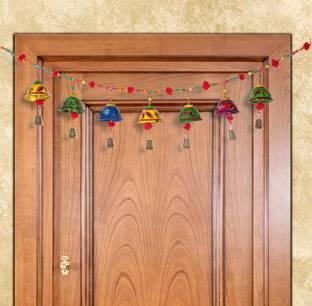 Fashion Art Fancy Toran, Bandarwal, Hangings, Welcome Latkan In Metal for Home Decor, Latkan/Toran and Door Hanging, Office Toran