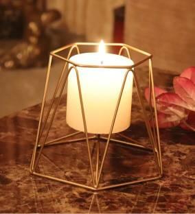 QUACE Iron Candle Holder