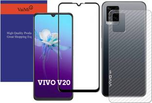 VaiMi Front and Back Tempered Glass for Vivo V20 2021