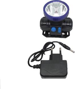 METTSTONE 40Watt Laser Rechargeable Head Torch with Lithium-ion Battery for Farmers, Fishing, Camping,...