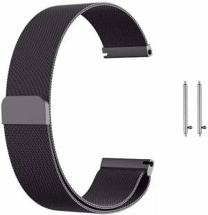 V-TAN Stainless Steel Mesh Milanese Loop Strap with Adjustable Magnetic Closure 20mm Band for Sasung Watch Active/Active 2, Huwei GT2,AmzeFit,VvoActive 3 & Any Smart Watch with 20mm Lugs Smart Watch Strap