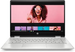 HP Pavilion x360 Core i3 10th Gen - (8 GB/256 GB SSD/Windows 10 Home) 14-dh1181TU 2 in 1 Laptop
