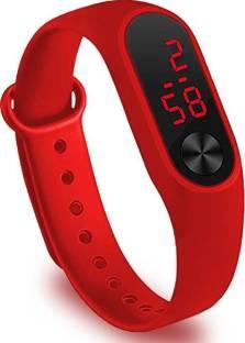 connate enterprise M2 Black LED Band Unisex Watch For Kids