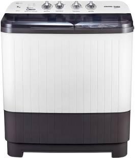 Voltas Beko 7 kg Semi Automatic Top Load White, Grey