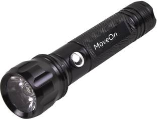MoveOn MHT-859/00 Multi-Function Super Metal Flashlight Police Torch