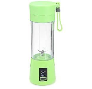 Relanco Plastic Hand Juicer Relanco Portable Swiller Food Processor (4 Blade - Green)
