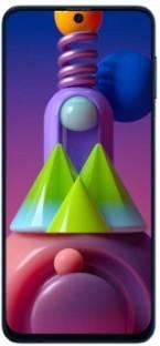 SAMSUNG Galaxy M51 (Electric Blue, 128 GB)