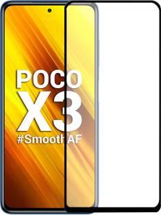 iZAP Tempered Glass Guard for Poco X3 pro, Poco X3, Poco X2, Oppo A12, Poco F3 GT