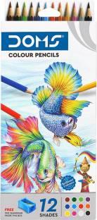 DOMS FSC 12 Shades Round Shaped Color Pencils