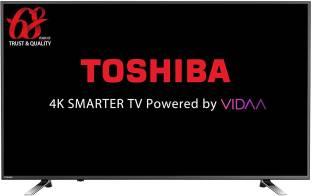 TOSHIBA 139 cm (55 inch) Ultra HD (4K) LED Smart TV