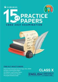 15+1 Practice Papers - English Language & Literature: CBSE Class 10 for 2021 Examination