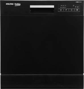 Voltas Beko DT8B Free Standing 8 Place Settings Dishwasher