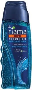 Fiama Men Refreshing Pulse Shower Gel