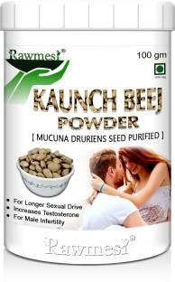 Rawmest Organic Kaunch Beej (Mucuna Pruriens )Powder