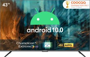 Coocaa 109 cm (43 inch) Ultra HD (4K) LED Smart Android TV with 10.0 Q
