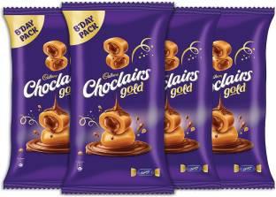 Cadbury Choclairs Gold (110 Candies), 605 gm (Pack of 4) Truffles