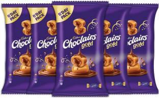 Cadbury Choclairs Gold (110 Candies), 605 gm (Pack of 5) Truffles