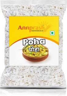 ANNPRASH PREMIUM QUALITY POHA /FLATTENED RICE - 500GM Poha (Long Grain, Raw)