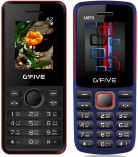 GFive A2 & U873 Combo of Two Mobiles