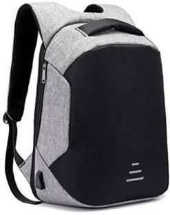 OL SKOOL Anti Theft Backpack Grey Waterproof Backpack
