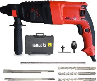 iBELL SDS Chuck,26MM 800W,900RPM1500W RH26-24 Rotary Hammer Drill