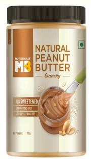 MuscleBlaze Natural Peanut Butter, Crunchy 750 g
