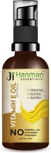 Hanman Essentials Vitamin E Oil (Premium Quality) For Healthy Skin, Hair & Nails (50 ml)