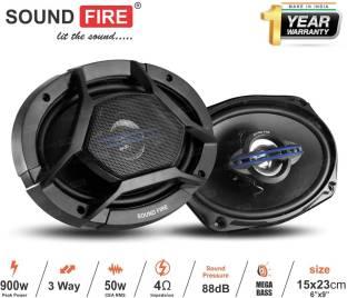 "SOUND FIRE Performance Series SF 6989 3-Way 900W 6""X9"" inch Coaxial Car Speaker"