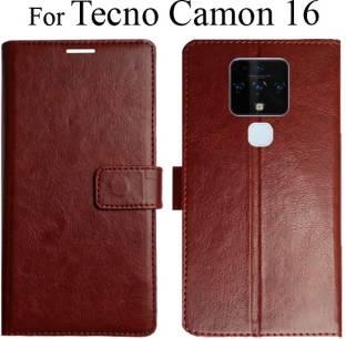 MYSHANZ Wallet Case Cover for Tecno Camon 16, Tecno Camon 16 Flip Cover