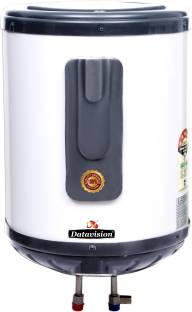 Datavision 25 L Storage Water Geyser (DV 25L Glassline Water Geysers, Grey +Off White)