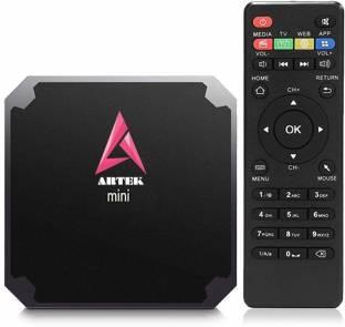 Artek Mini Android 7.1,Smart TV Box with Amlogic S905W Quad Core 64 bit Cortex,2GB DDR3 RAM 16GB ROM, WiFi 4K Video Support - Android v4.4 (KitKat), Amlogic S905W, Cortex-A53, 1 DDR3, 8 GB Flash Mini PC