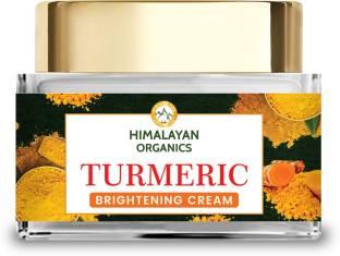 Himalayan Organics Turmeric Brightening Cream | Dark Spot Reduction | No Parabens, Silicones, Mineral Oil | 50gm