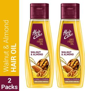 HAIR & CARE With Walnut & Almond,Non-Sticky  Hair Oil