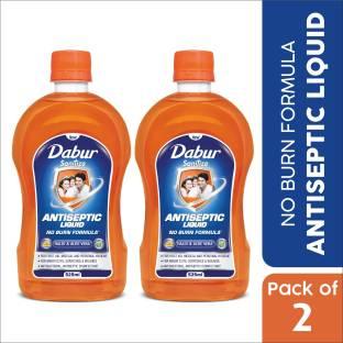 Dabur Sanitize Antiseptic Liquid | No Burn Formula Antiseptic Liquid