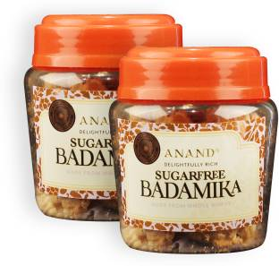 Anand Indian Sugar Free Biscottis Badamika - Pure Butter and Superior Almond Sugarfree Cookie