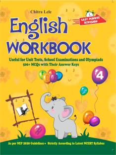 English Workbook Class 4 - Useful for Unit Tests, School Examinations and Olympiads