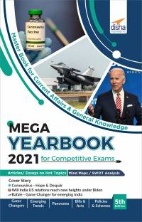 The Mega Yearbook 2021 for Competitive Exams