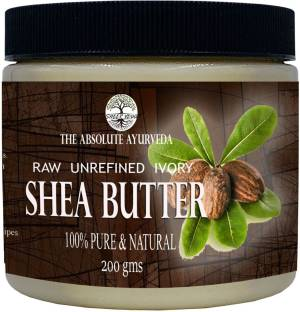 Sheer Veda Natural Shea Butter for body and skin, Raw Unrefined and Organic. Moisturizer & Skin care (200 gms)