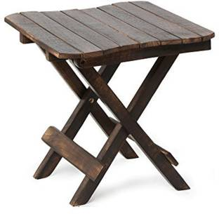 Simran Handicrafts Solid Wood Side Table