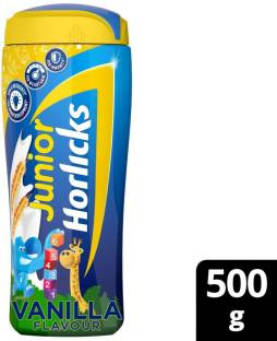 Junior Horlicks Vanilla Flavour