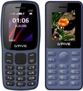 GFive U106 & A1 Combo of Two Mobiles