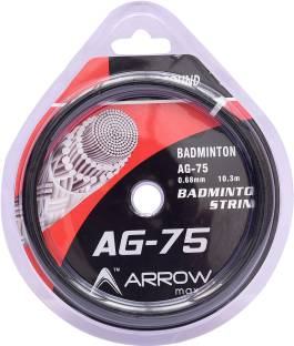 ArrowMax BASIC STARTERS BADMINTON GUT STRINGS FOR GENERAL USE-AG75 ( COLOR MAY VARY) 0.68 Badminton String - 10.3 m