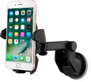Flipkart SmartBuy Universal Car Mobile Holder for Dashboard, Windshield with Quick One Touch Technology
