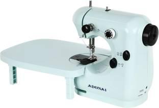 Adonai Advance Silai Machine With Tray Blue Electric Sewing Machine